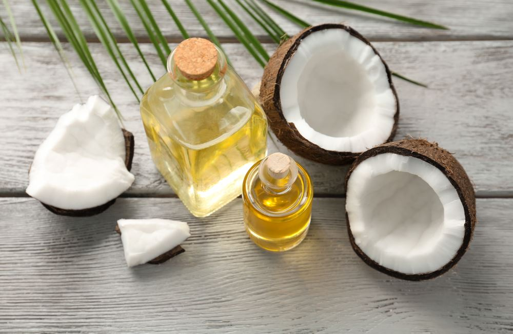 huiles naturelles noix de coco